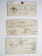 3 Lettre Lille - Warneton - Marcophilie (Lettres)