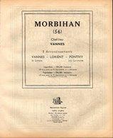 ANNUAIRE - 56 - Département Morbihan - Année 1953 - édition Didot-Bottin - 82 Pages - Telephone Directories