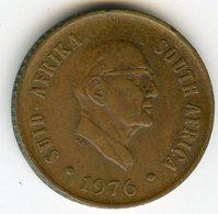 Afrique Du Sud South Africa 1 Cent 1976 Président Fouche KM 91 - Afrique Du Sud