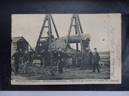 BRASSCHAET-POLYGONE - Artillerie De Forteresse - Manoeuvre De Force Au Canon De 24 Cm - Circulé - 2 Scans - Andere