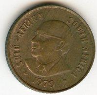 Afrique Du Sud South Africa 1 Cent 1979 Président Diederichs KM 98 - Afrique Du Sud