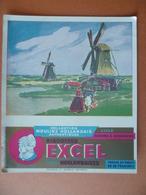 Buvard  Biscottes EXCEL A LILLE - Buvards, Protège-cahiers Illustrés
