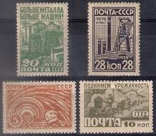 Russia 1929, Michel Nr 379-82, MLH OG - Nuovi