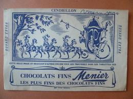Buvard  CHOCOLAT FINS MEUNIER - Buvards, Protège-cahiers Illustrés