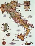 MENU Linea C  - M10 - ROTARY CROISIÈRE MS ITALIA. Menu Du 10 Oct. 1981.. - Boats