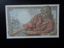 FRANCE : 20 FRANCS   14.10.1948    FAYETTE 13 / PICK 100c     Presque SUP à SUP * - 1871-1952 Anciens Francs Circulés Au XXème