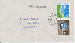 United Republic Of Tanganyika & Zanzibar FDC 7-7-1964 - Tanzania (1964-...)