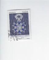 Cinquantenaire De L'ordre National Du Mérte 4830 Oblitéré 2013 - Francia