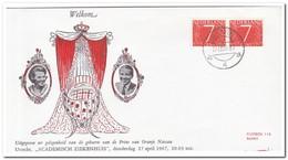 Nederland 1967, Day Of Birth HRH Prince Alexander ( Baarn ) - Period 1949-1980 (Juliana)