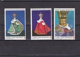 Orden De Malta Nº 264 Al 266 - Sovrano Militare Ordine Di Malta