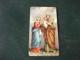 SANTINO HOLY PICTURE IMAIGE SAINTE SACRA FAMIGLIA 125 - Religione & Esoterismo