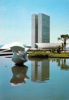 1 AK Brasilien * Brasília - Kongressgebäude In Der Hauptstadt Brasiliens - Seit 1987 UNESCO Weltkulturerbe * - Brasilia