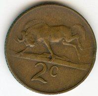 Afrique Du Sud South Africa 2 Cents 1967 KM 66.1 - Afrique Du Sud