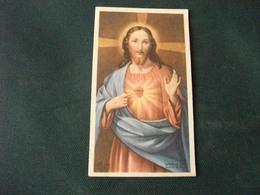 SANTINO HOLY PICTURE IMAIGE SAINTE SACRO CUORE DI GESU' Z /49 - Religione & Esoterismo