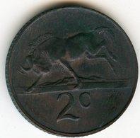 Afrique Du Sud South Africa 2 Cents 1967 KM 66.2 - Afrique Du Sud