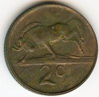 Afrique Du Sud South Africa 2 Cents 1981 KM 83 - Afrique Du Sud
