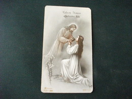 SANTINO HOLY PICTURE IMAIGE SAINTE CALICEM DOMINI AFFECTANTER BIBE FIDES 290 - Religione & Esoterismo