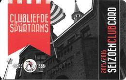 Niederlande: Spartakaart - Sparta-Rotterdam - Altri