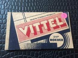 CARNET DE 12 CARTES POSTALES DE VITTEL -88- PAR ROEDER - Vittel Contrexeville