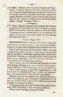 1851 REGNO DELLE DUE SICILIE DECRETO ARCO FELICE ANTICHITA' RITROVATE - Décrets & Lois