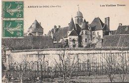ARNAY-le-DUC. (Côte-d'Or). Les Vieilles Tours - Arnay Le Duc