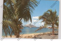 ARUBA - Oranjestad Harbour - Aruba