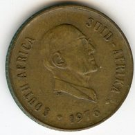 Afrique Du Sud South Africa 2 Cents 1976 Président Fouche KM 92 - Afrique Du Sud