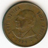 Afrique Du Sud South Africa 2 Cents 1979 Président Diederichs KM 99 - Afrique Du Sud