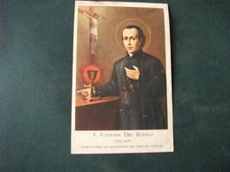 SANTINO HOLY PICTURE IMAIGE SAINTE S. GASPARE DEL BUFALO FONDATORE DEI MISSIONARI DEL PREZ.MO SANGUE - Religione & Esoterismo
