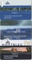 Lot De 3 Cartes : Montbleu Resort Casino : Lake Tahoe NV - Casinokarten