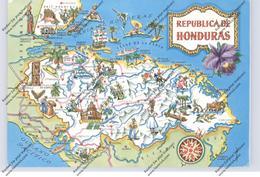 HONDURAS - MAP - Honduras