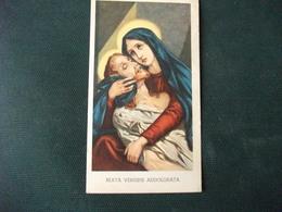 SANTINO HOLY PICTURE IMAIGE SAINTE BEATA VERGINE ADDOLORATA ORAZIONE 132 BIS - Religione & Esoterismo