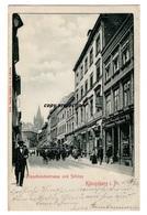 Königsberg I. Pr., Französischestrasse Und Schloss, Preußen, Kaliningrad, Alte Ansichtskarte 1901 - Russie