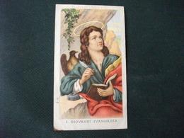 SANTINO HOLY PICTURE IMAIGE SAINTE S. GIOVANNI EVANGELISTA 87 - Religione & Esoterismo