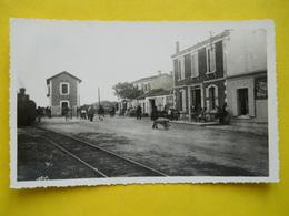 Ré ,Ars En Ré ,gare ,photo Dentelée Format Cpa - Ile De Ré