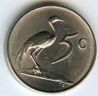 Afrique Du Sud South Africa 5 Cents 1965 KM 67.2 - Afrique Du Sud