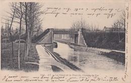 Ay Le Canal Et Le Pont Du Chemin De Fer - Ay En Champagne
