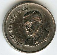 Afrique Du Sud South Africa 5 Cents 1968 Président Swart KM 76.1 - Afrique Du Sud
