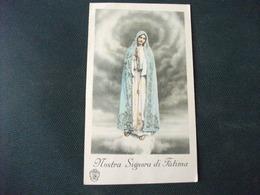 SANTINO HOLY PICTURE IMAIGE SAINTE MADRE SIGNORA DI FATIMA - Religione & Esoterismo