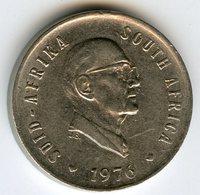 Afrique Du Sud South Africa 5 Cents 1976 Président Fouche KM 93 - Afrique Du Sud