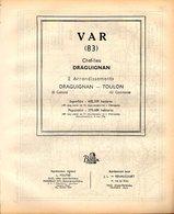 ANNUAIRE - 83 - Département Var - Année 1953 - édition Didot-Bottin - 112 Pages - Telephone Directories