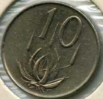 Afrique Du Sud South Africa 10 Cents 1965 KM 68.1 - Afrique Du Sud