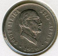 Afrique Du Sud South Africa 10 Cents 1976 Président Fouche KM 94 - Afrique Du Sud
