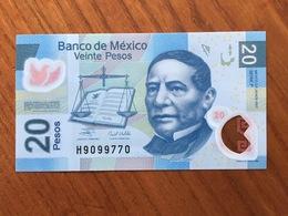 MEXIQUE - 20 Pesos - Pick 122 - Neuvième Édition - Série F - Daté Du 20 Nov 2007 - UNC - Mexique