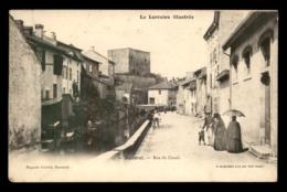 54 - BACCARAT - RUE DU CANAL - Baccarat