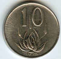 Afrique Du Sud South Africa 10 Cents 1965 KM 68.2 - Afrique Du Sud