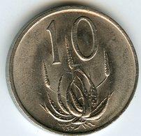Afrique Du Sud South Africa 10 Cents 1980 UNC KM 85 - Afrique Du Sud