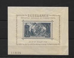 LUXEMBOURG 1946 BLOC 6 - Blocs & Feuillets