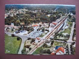 CPA CPSM PHOTO 78 ST SAINT REMY LES CHEVREUSE Quartier De La Gare Vue Aérienne  1970 80 - St.-Rémy-lès-Chevreuse