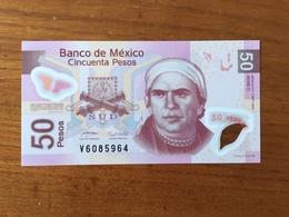 MEXIQUE - 50 Pesos - Pick 123b - Neuvième Édition - Série D - Daté Du 7 Sept 2005 - UNC - Mexique